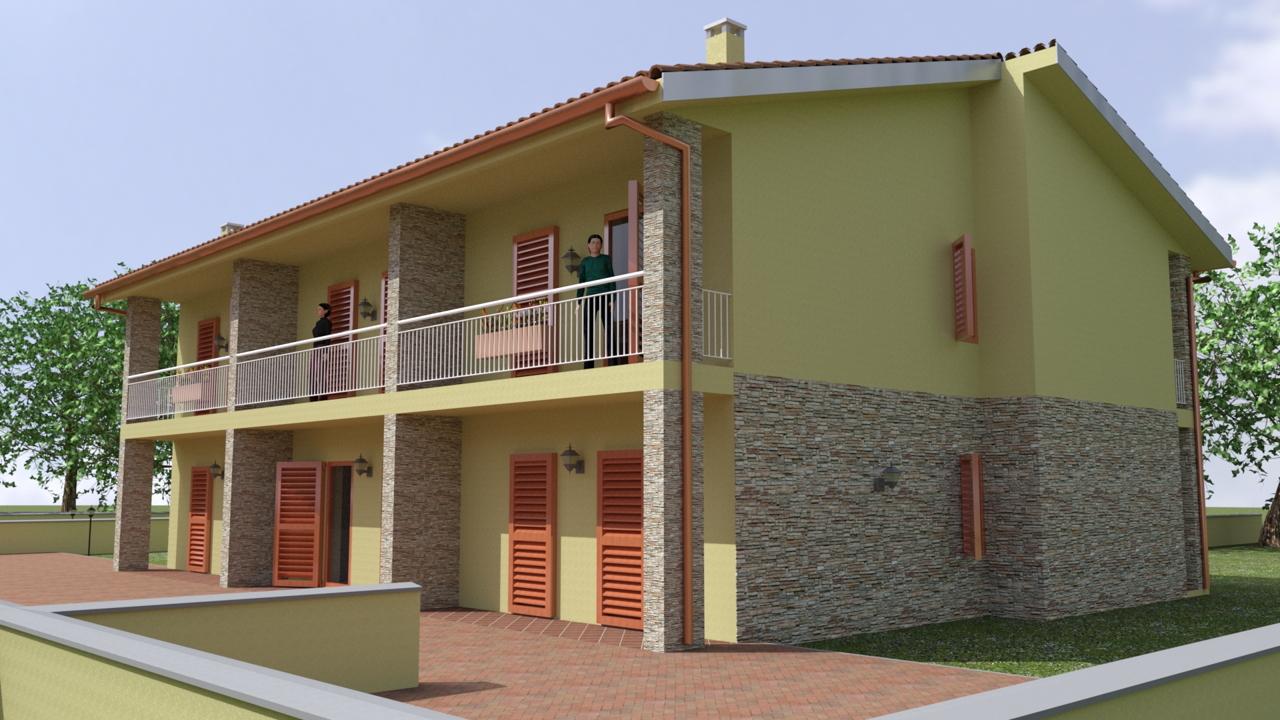 Progetti Esterni Di Case Moderne : Progetti di case moderne arredare il soggiorno progetto in d per