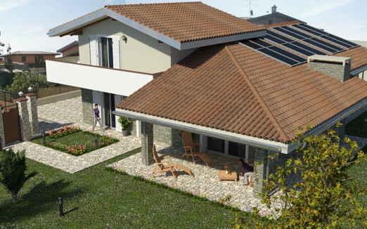 Rendering esterni di edifici per edilizia e autorizzazione for Vincolo paesaggistico