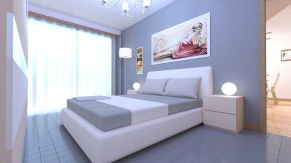 Renders 3d For Master Bedroom Project: Realistic 3d Bedroom Rendering