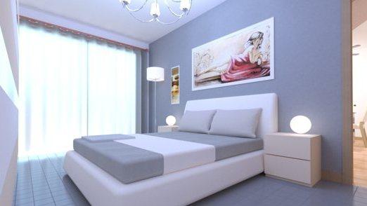 Bedroom .